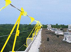 fall ban cable guard