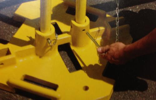 Railguard 200 quick pin